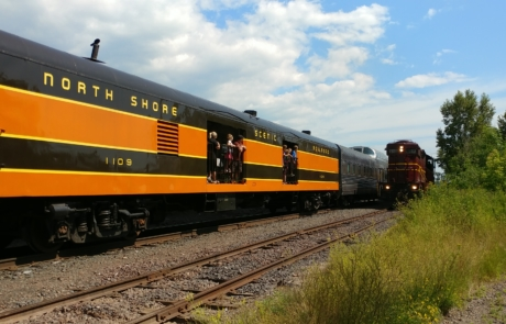 North Shore Scenic Railroad 1109