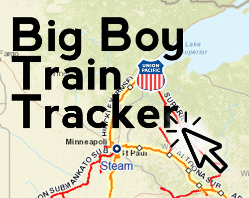 Train Tracker - Union Pacific - Duluth Trains