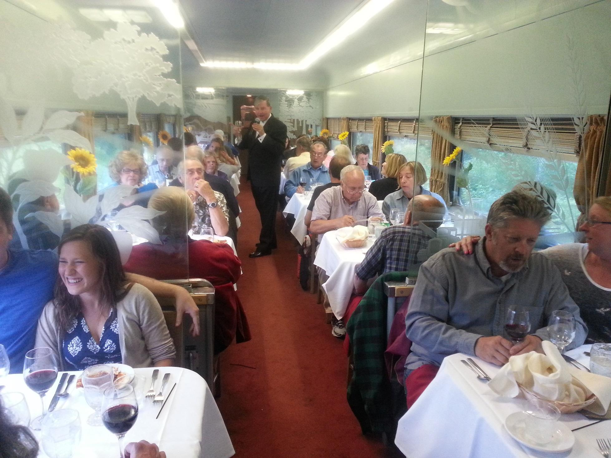 Elegant Dinner Train